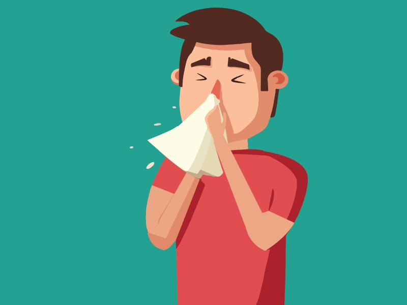 pó doméstico oferece riscos para a saúde, especialmente no deflagrar de alergias respiratórias.