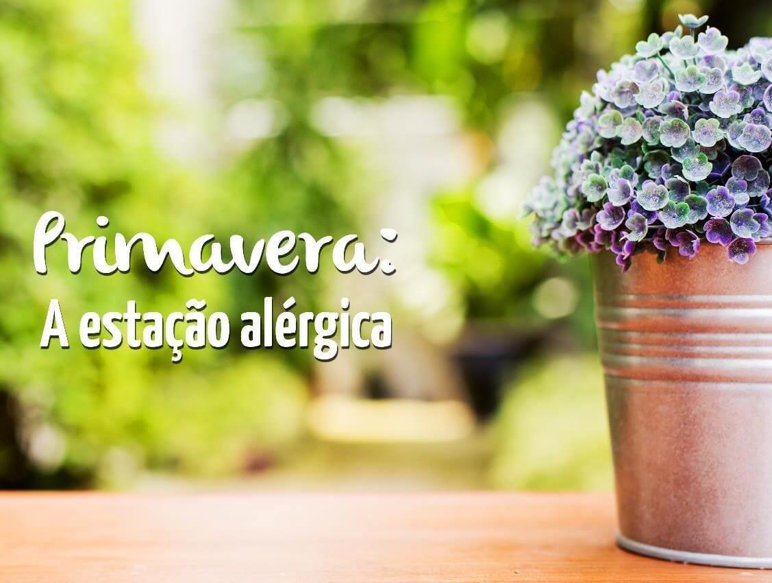 Primavera a estação alérgica