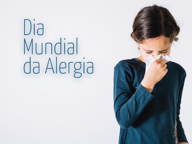 Dia mundial da alergia: Rinite alérgica e asma atingem a população