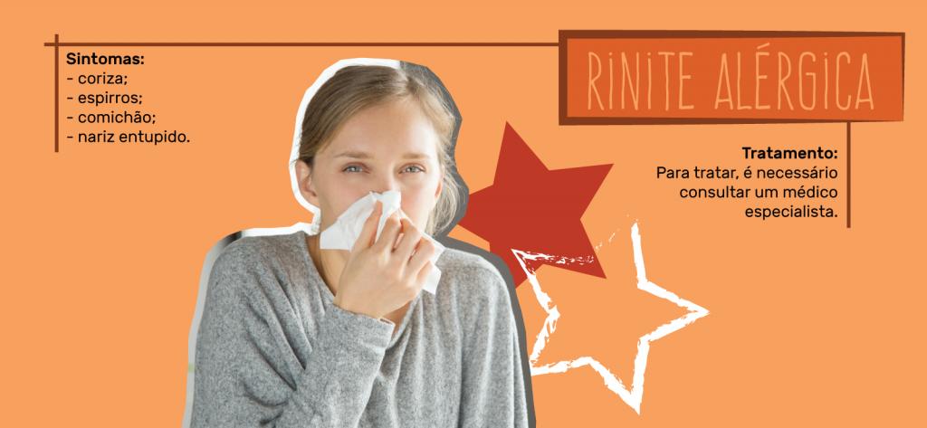 Sintomas e tratamentos para rinite