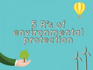Conhece os 5 rs da Sustentabilidade?