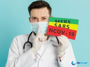 Como o novo Coronavírus se compara com o Mers e Sars?