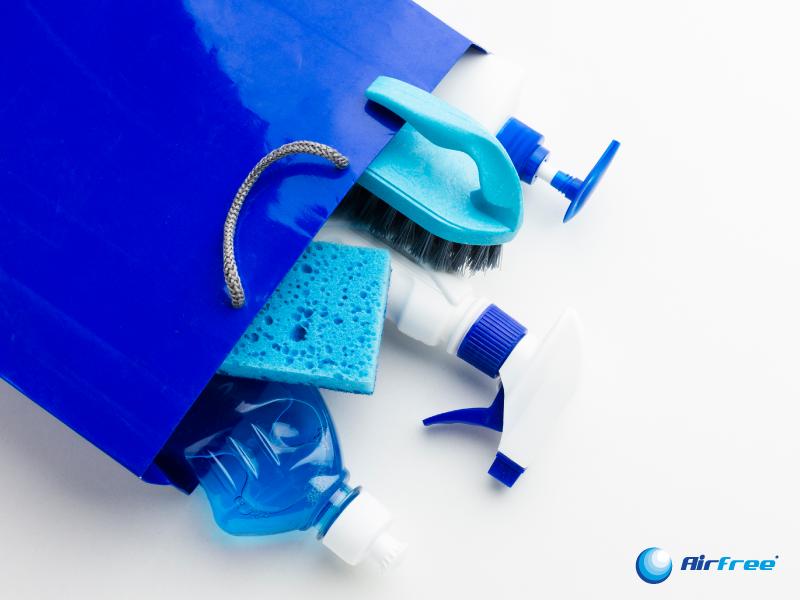 produtos de limpeza contra covid-19