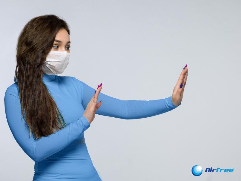 Coronavírus e transmissão pelo ar: cuidados devem ir além do contacto físico