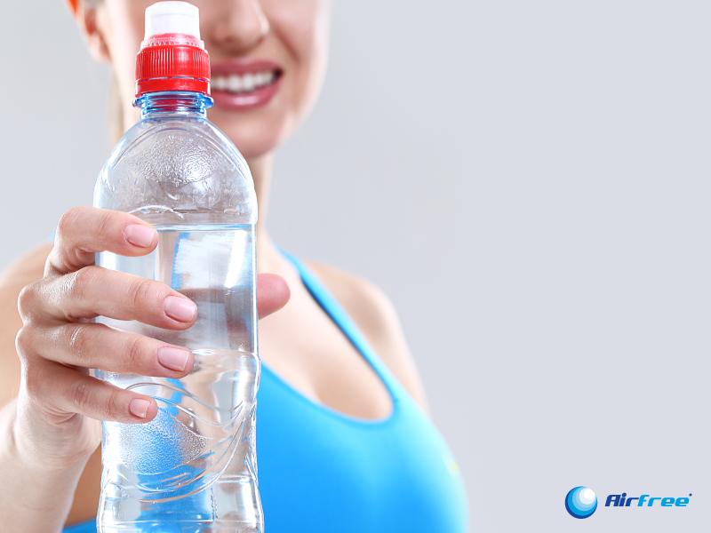 Para respirar melhor, a importância de beber água