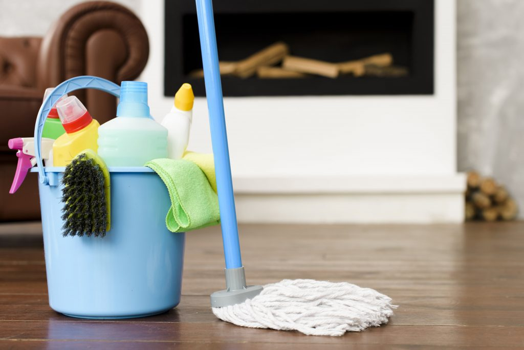 produtos de limpeza
